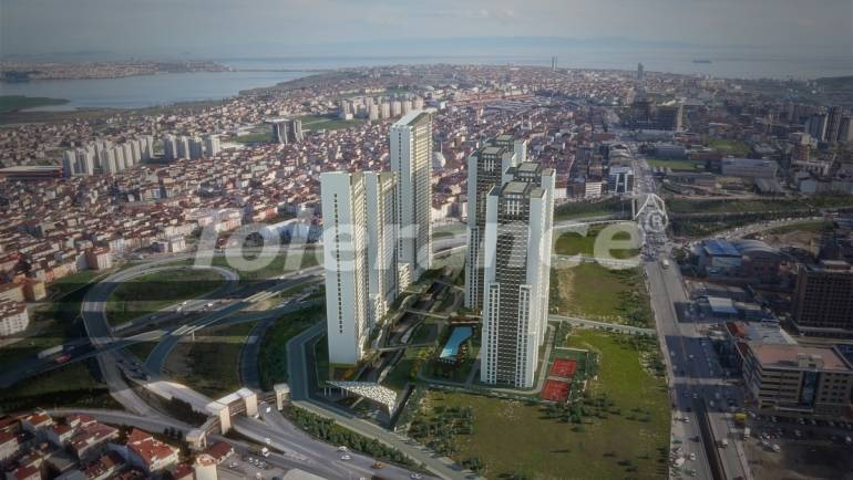 Просторные квартиры в Стамбуле в рассрочку с прямым видом на море и озеро - 24085   Tolerance Homes