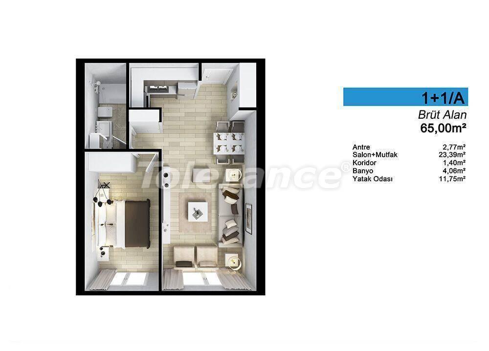 Просторные квартиры в Стамбуле в рассрочку с прямым видом на море и озеро - 24065   Tolerance Homes