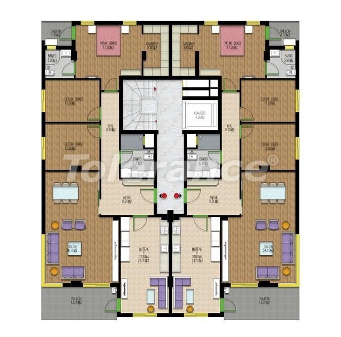 Квартиры класса люкс в Лимане, Коньяалты от одного из лучших застройщиков Анталии рядом с морем - 24142 | Tolerance Homes