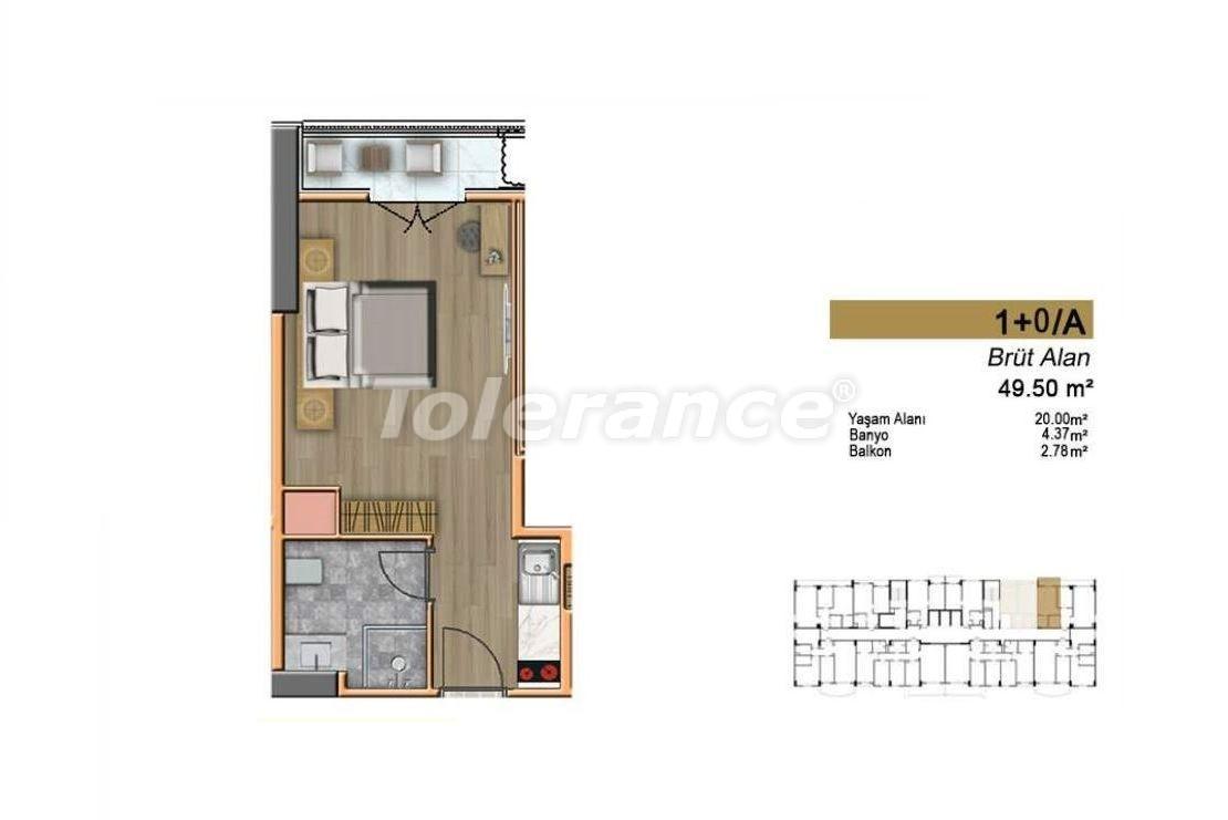 Недорогие квартиры в Стамбуле с высококачественной отделкой в современном комплексе - 24435 | Tolerance Homes