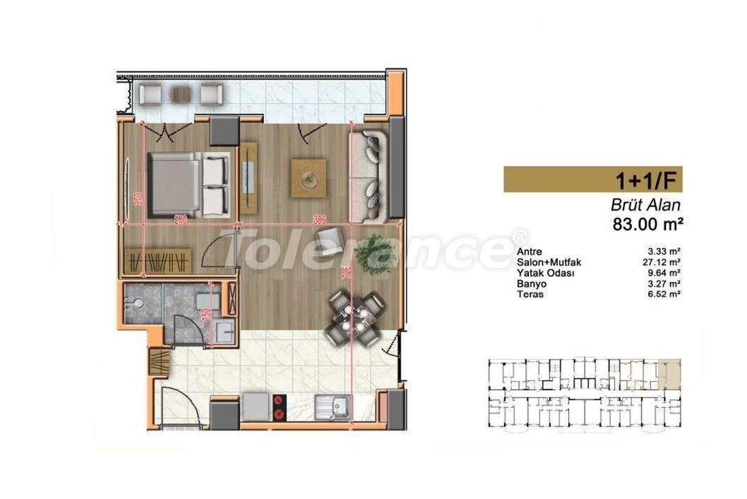 Недорогие квартиры в Стамбуле с высококачественной отделкой в современном комплексе - 24436 | Tolerance Homes