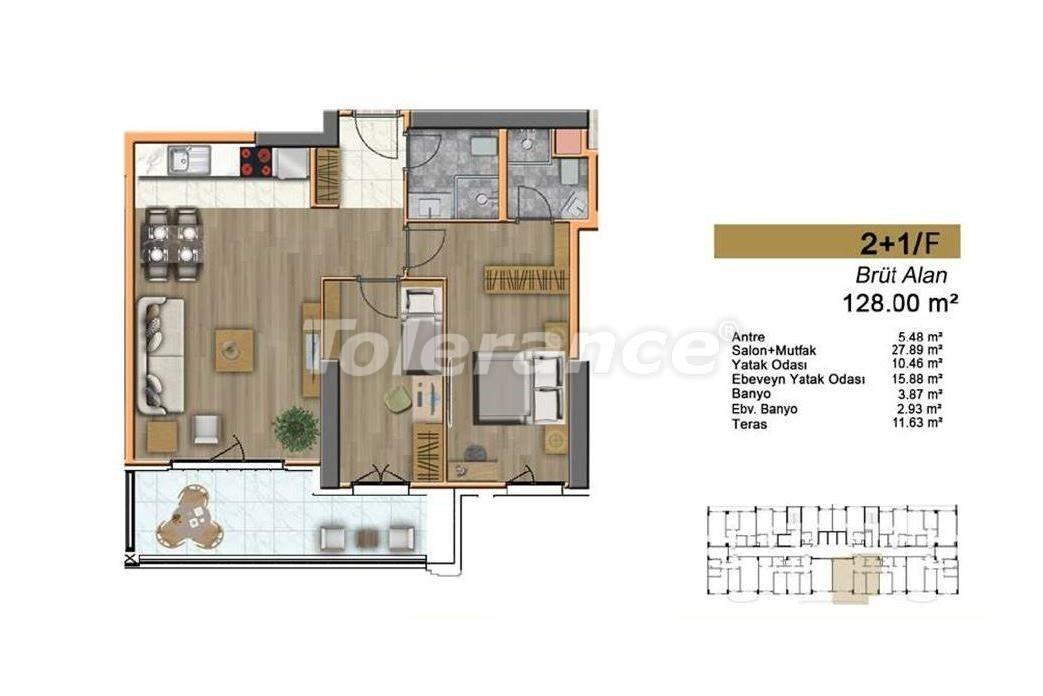 Недорогие квартиры в Стамбуле с высококачественной отделкой в современном комплексе - 24440 | Tolerance Homes