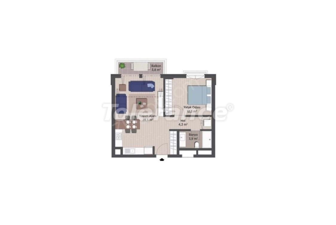 Квартиры класса люкс в Стамбуле в современном комплексе с рассрочкой до 24 месяцев - 24920   Tolerance Homes