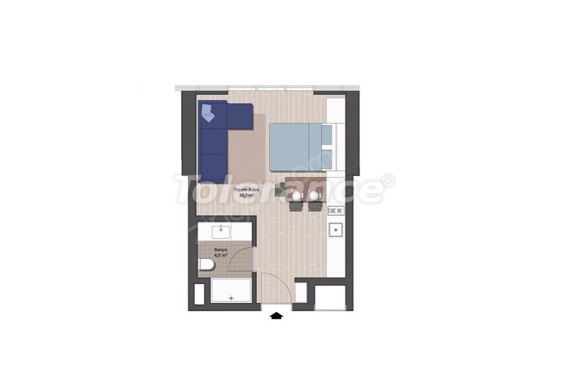 Квартиры класса люкс в Стамбуле в современном комплексе с рассрочкой до 24 месяцев - 24918   Tolerance Homes