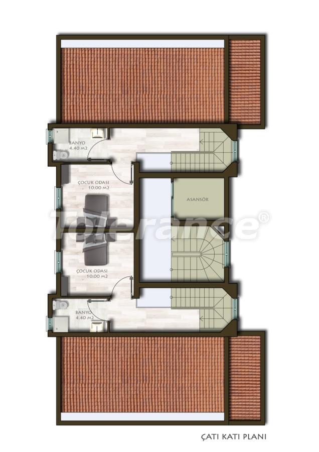 Новые трехкомнатные квартиры в Белеке в комплексе с бассейном - 24539   Tolerance Homes