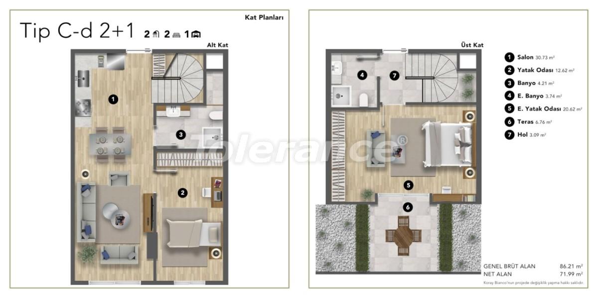 Просторные современные квартиры в Стамбуле с рассрочкой до 1 года рядом с Белградским лесом - 24985 | Tolerance Homes