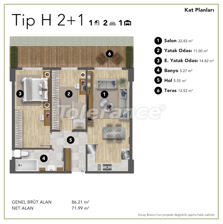 Просторные современные квартиры в Стамбуле с рассрочкой до 1 года рядом с Белградским лесом - 24989 | Tolerance Homes