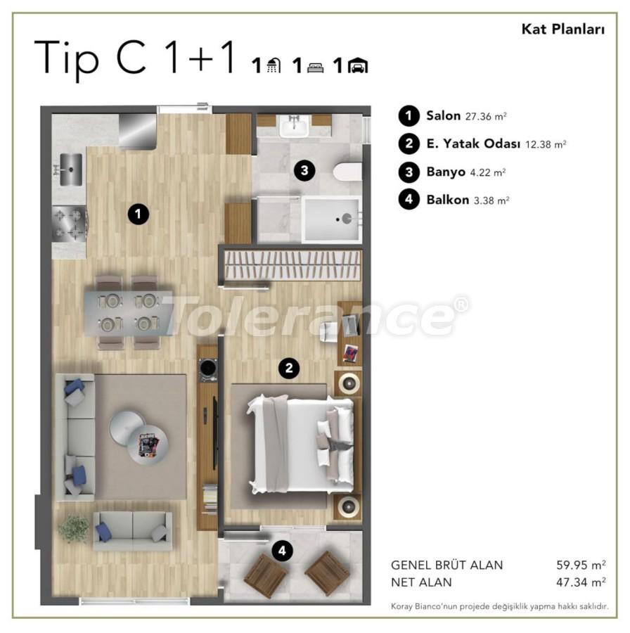 Просторные современные квартиры в Стамбуле с рассрочкой до 1 года рядом с Белградским лесом - 24988 | Tolerance Homes