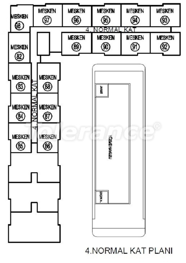 Лучший инвестиционный проект в Анталии: современный комплекс с гарантией аренды и рассрочкой - 25061 | Tolerance Homes