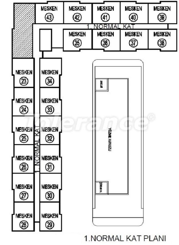 Лучший инвестиционный проект в Анталии: современный комплекс с гарантией аренды и рассрочкой - 25057   Tolerance Homes