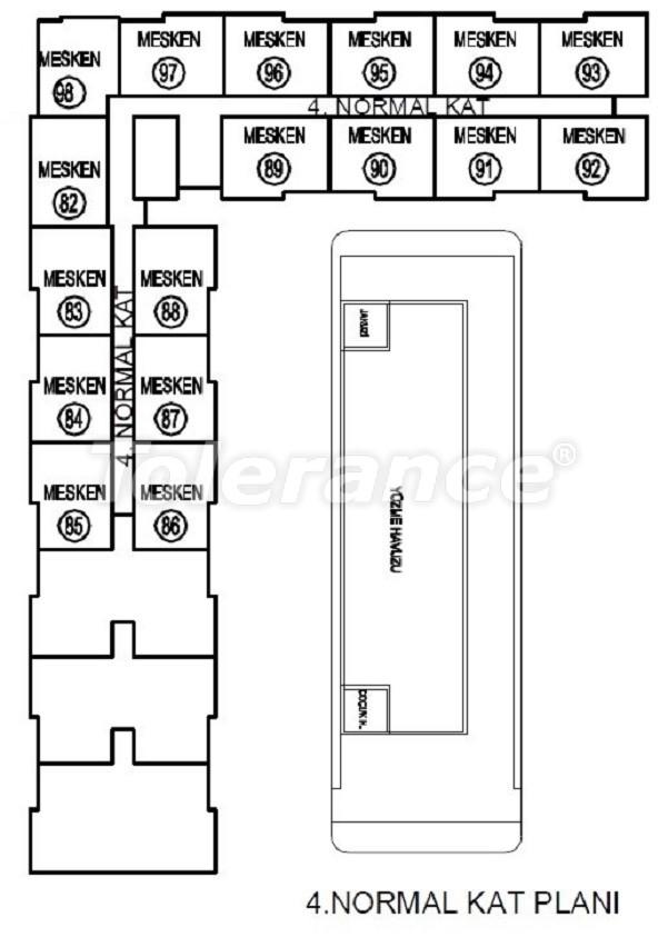 Лучший инвестиционный проект в Анталии: современный комплекс с гарантией аренды и рассрочкой - 25061   Tolerance Homes