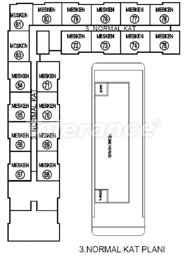 Лучший инвестиционный проект в Анталии: современный комплекс с гарантией аренды и рассрочкой - 25060   Tolerance Homes