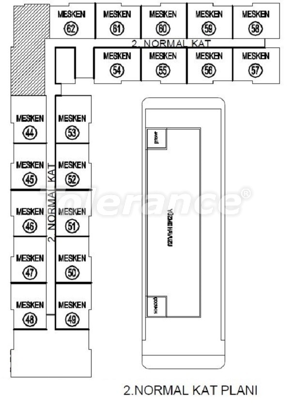 Лучший инвестиционный проект в Анталии: современный комплекс с гарантией аренды и рассрочкой - 25059   Tolerance Homes