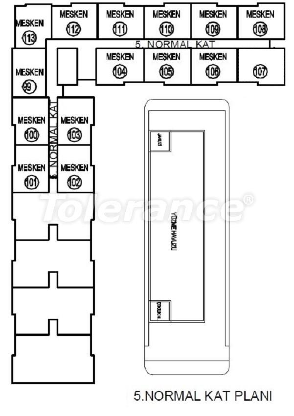 Лучший инвестиционный проект в Анталии: современный комплекс с гарантией аренды и рассрочкой - 25062   Tolerance Homes