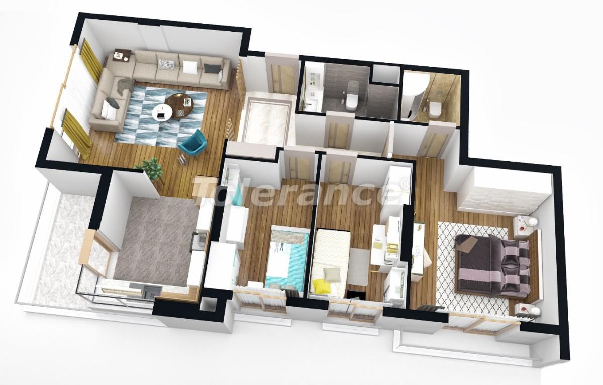 Квартиры класса люкс  в Анталии от надежного застройщика - 25166 | Tolerance Homes