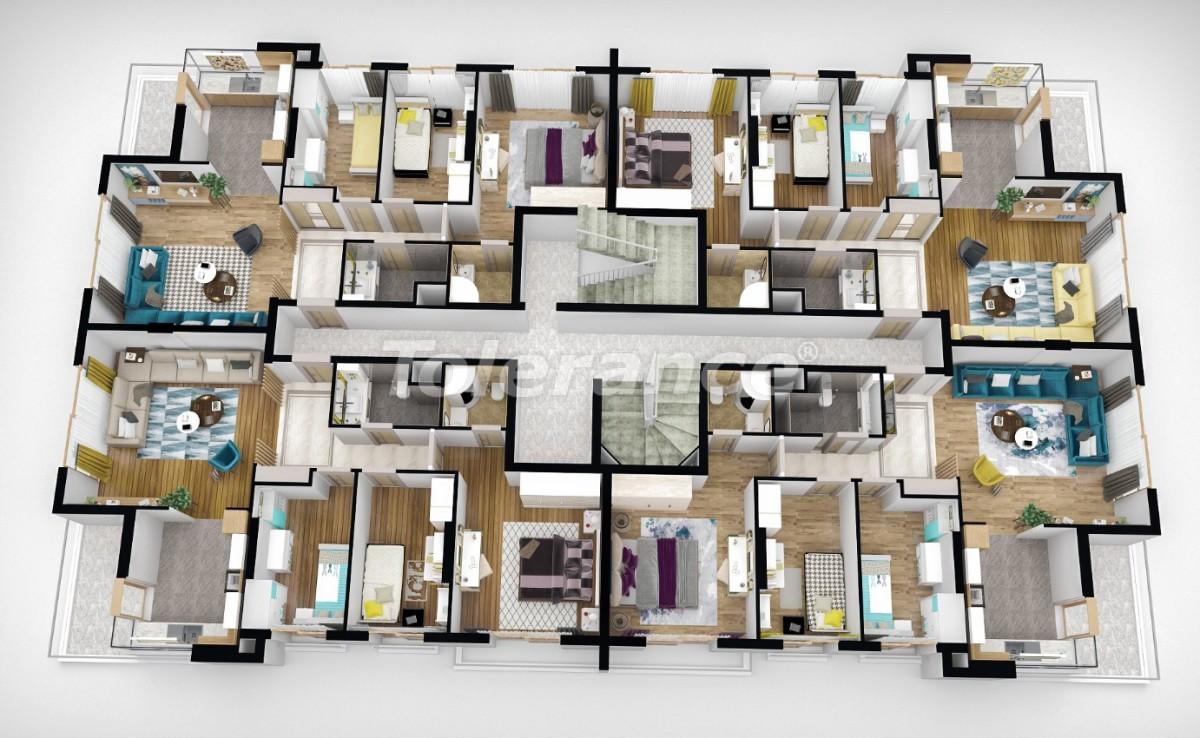 Квартиры класса люкс  в Анталии от надежного застройщика - 25167 | Tolerance Homes