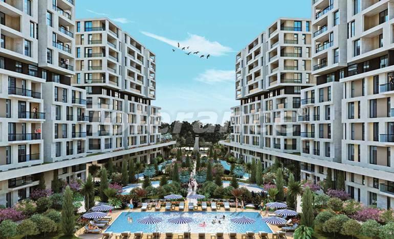Роскошные квартиры в Бейликдюзю, Стамбул  в современном комплексе с богатой инфраструктурой - 25394 | Tolerance Homes