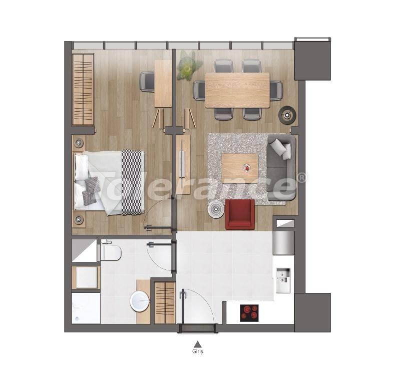 Современные квартиры в Стамбуле от застройщика - 26615 | Tolerance Homes