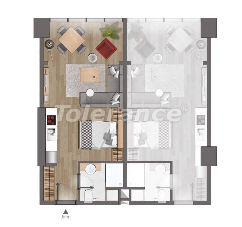 Современные квартиры в Стамбуле от застройщика - 26614 | Tolerance Homes