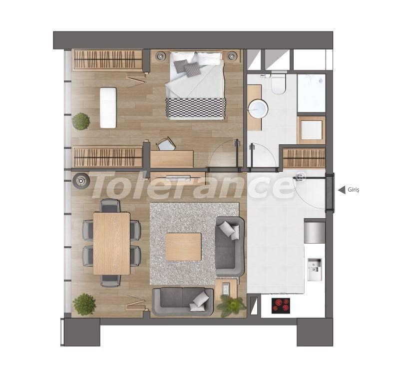 Современные квартиры в Стамбуле от застройщика - 26616 | Tolerance Homes