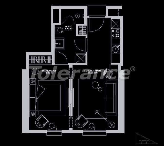 Роскошный проект от застройщика в Стамбуле эксклюзивного дизайна с гарантией аренды 20 лет - 26653 | Tolerance Homes