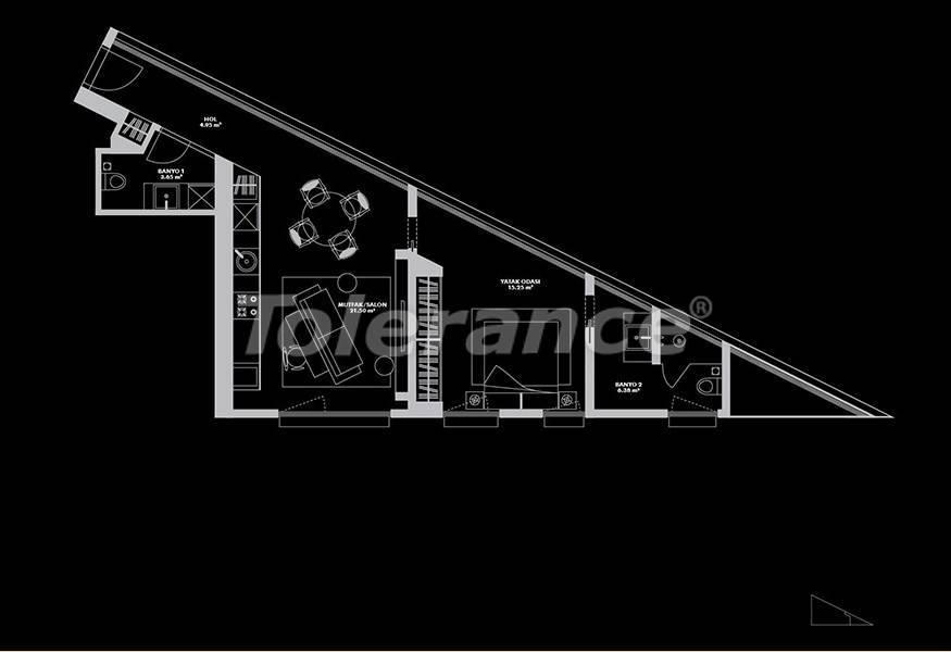 Роскошный проект от застройщика в Стамбуле эксклюзивного дизайна с гарантией аренды 20 лет - 26652 | Tolerance Homes