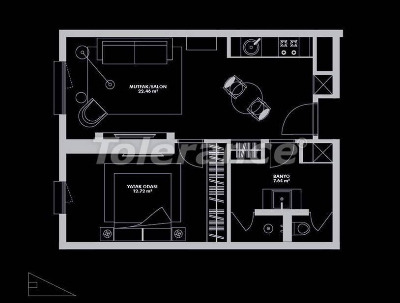 Роскошный проект от застройщика в Стамбуле эксклюзивного дизайна с гарантией аренды 20 лет - 26655 | Tolerance Homes