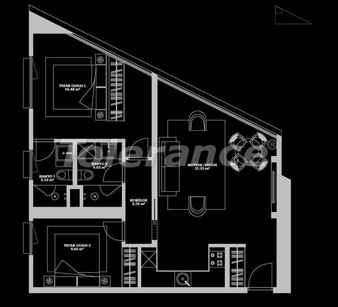 Роскошный проект от застройщика в Стамбуле эксклюзивного дизайна с гарантией аренды 20 лет - 26654 | Tolerance Homes