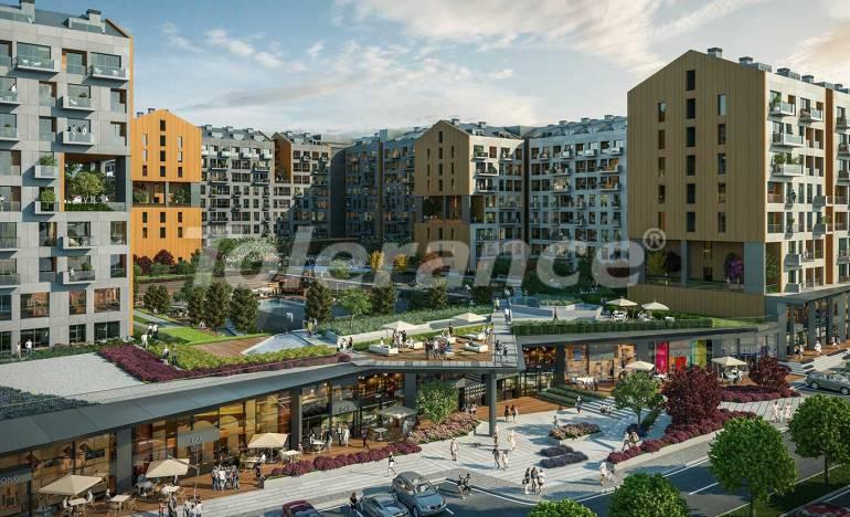 Современные квартиры в Стамбуле в комплексе с богатой инфраструктурой и видом на море - 25569 | Tolerance Homes