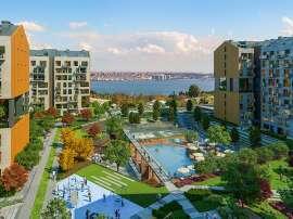 Современные квартиры в Стамбуле в комплексе с богатой инфраструктурой и видом на море - 36620 | Tolerance Homes