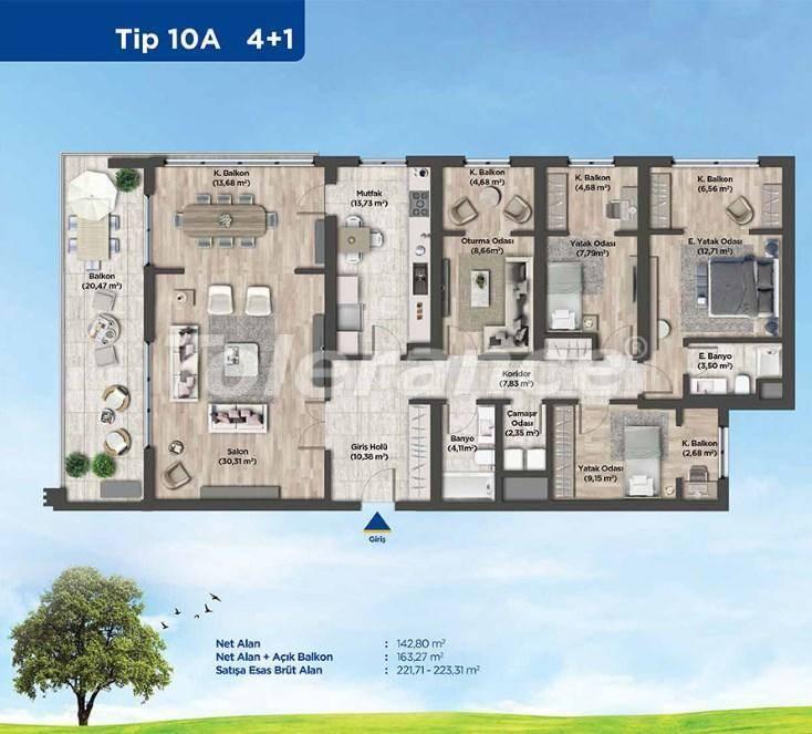 Квартиры в Стамбуле от застройщика в выгодном для инвестиций проекте - 26992 | Tolerance Homes