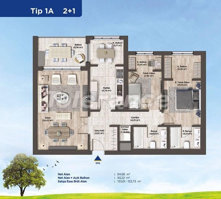 Квартиры в Стамбуле от застройщика в выгодном для инвестиций проекте - 26986   Tolerance Homes