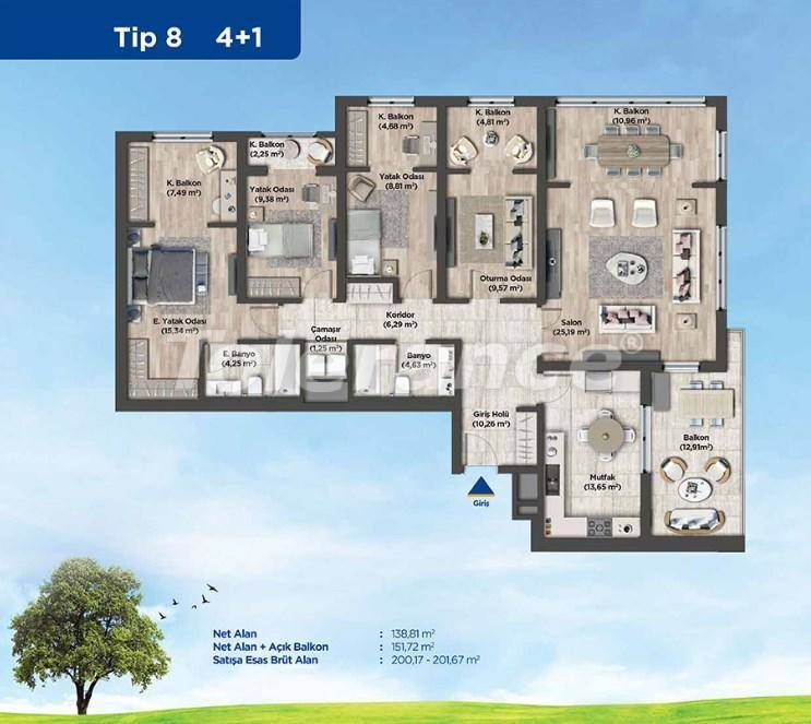 Квартиры в Стамбуле от застройщика в выгодном для инвестиций проекте - 26991   Tolerance Homes