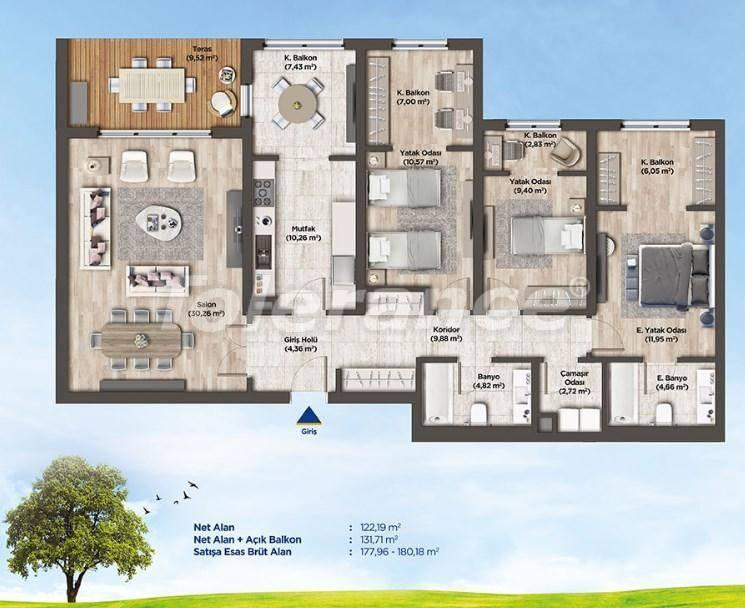 Квартиры в Стамбуле от застройщика в выгодном для инвестиций проекте - 26990   Tolerance Homes