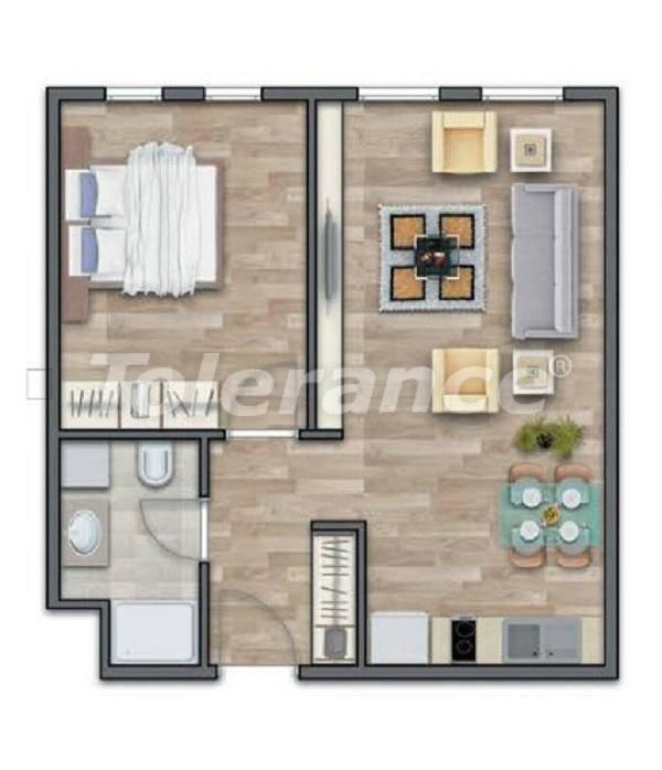 Современные квартиры в Стамбуле в шикарном комплексе, с рассрочкой от застройщика - 27011 | Tolerance Homes