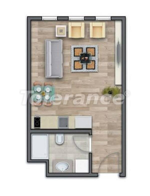 Современные квартиры в Стамбуле в шикарном комплексе, с рассрочкой от застройщика - 27009 | Tolerance Homes