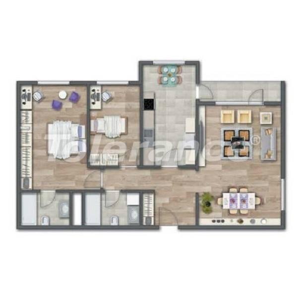 Современные квартиры в Стамбуле в шикарном комплексе, с рассрочкой от застройщика - 27012 | Tolerance Homes