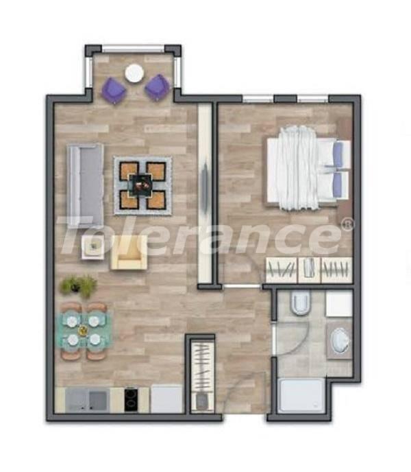 Современные квартиры в Стамбуле в шикарном комплексе, с рассрочкой от застройщика - 27010 | Tolerance Homes