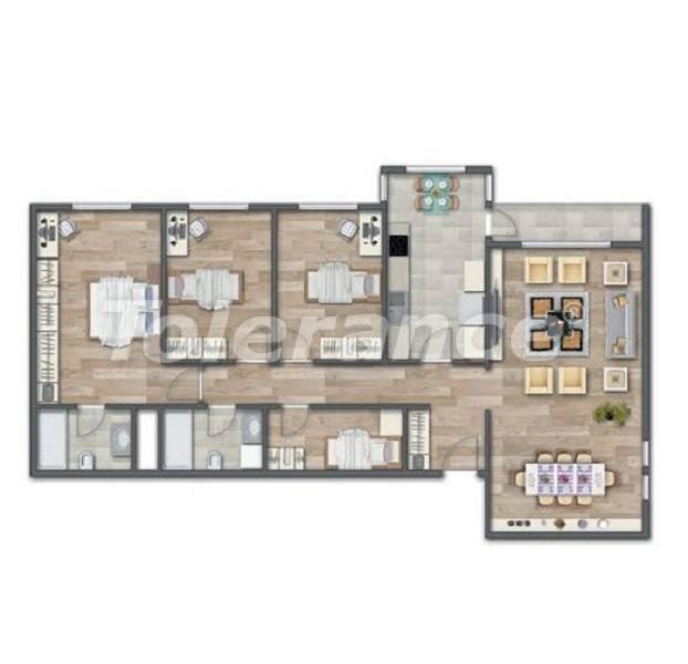 Современные квартиры в Стамбуле в шикарном комплексе, с рассрочкой от застройщика - 27014 | Tolerance Homes
