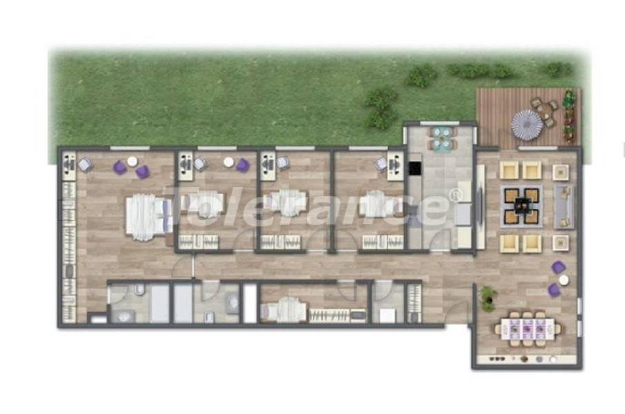 Современные квартиры в Стамбуле в шикарном комплексе, с рассрочкой от застройщика - 27016 | Tolerance Homes