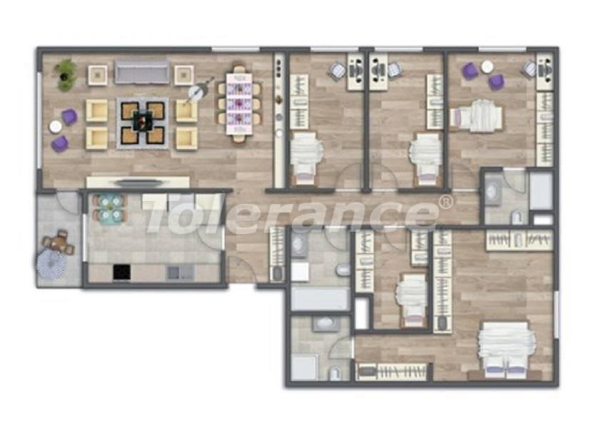 Современные квартиры в Стамбуле в шикарном комплексе, с рассрочкой от застройщика - 27015 | Tolerance Homes