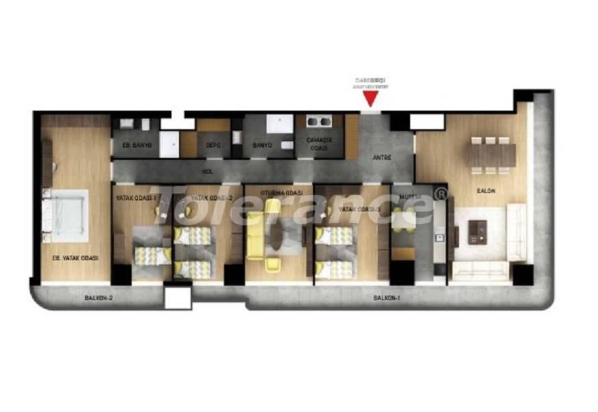 Квартиры в Стамбуле с рассрочкой от застройщика - 27041 | Tolerance Homes