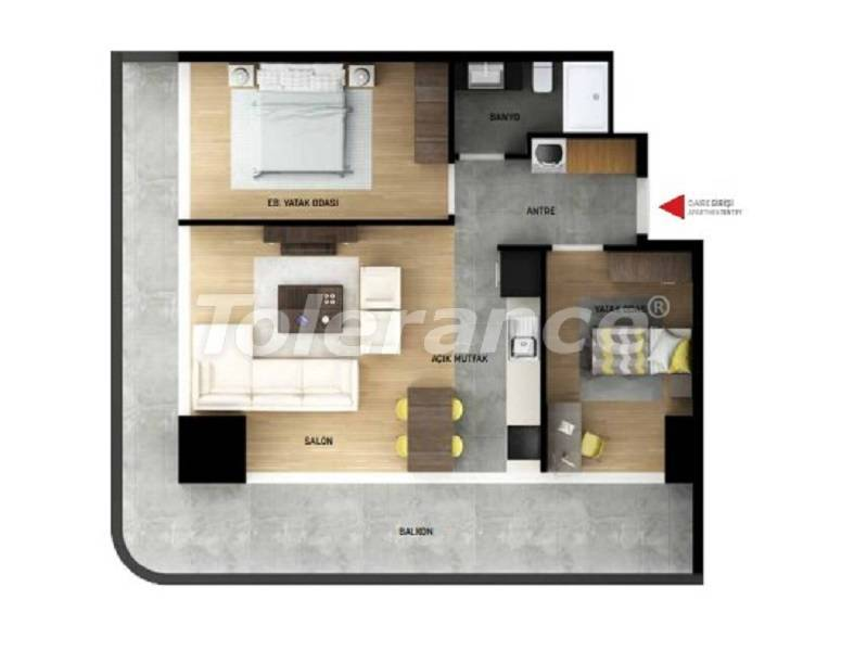 Квартиры в Стамбуле с рассрочкой от застройщика - 27040 | Tolerance Homes