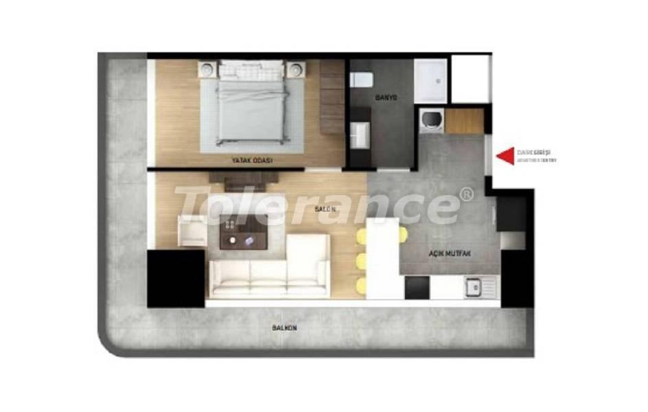 Квартиры в Стамбуле с рассрочкой от застройщика - 27037 | Tolerance Homes