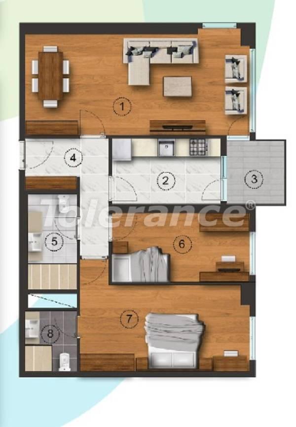 Квартиры в Стамбуле с отдельной кухней, с рассрочкой от застройщика - 27091 | Tolerance Homes