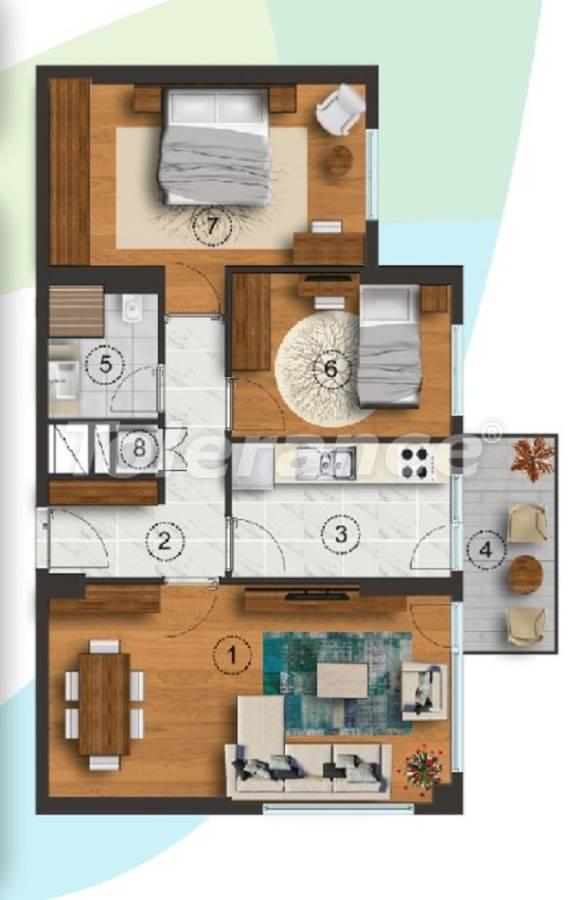 Квартиры в Стамбуле с отдельной кухней, с рассрочкой от застройщика - 27092 | Tolerance Homes