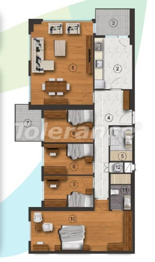 Квартиры в Стамбуле с отдельной кухней, с рассрочкой от застройщика - 27095 | Tolerance Homes