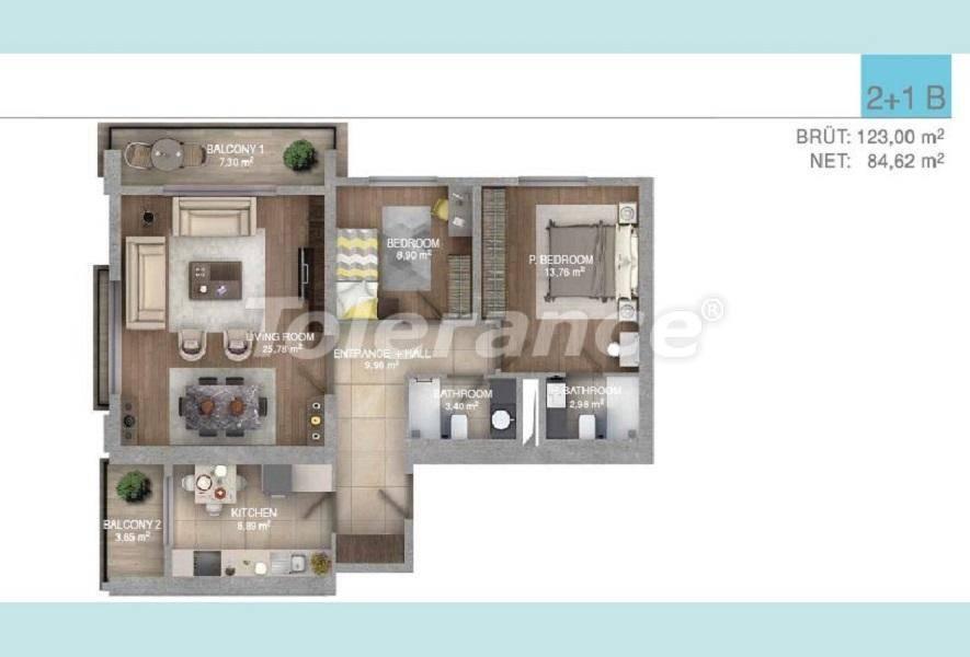 Просторные квартиры в Стамбуле в комплексе с крытым бассейном - 27097 | Tolerance Homes