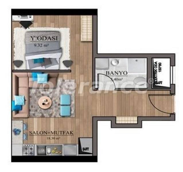Инвестиционный проект: недорогие квартиры в Стамбуле с видом на море - 27128 | Tolerance Homes