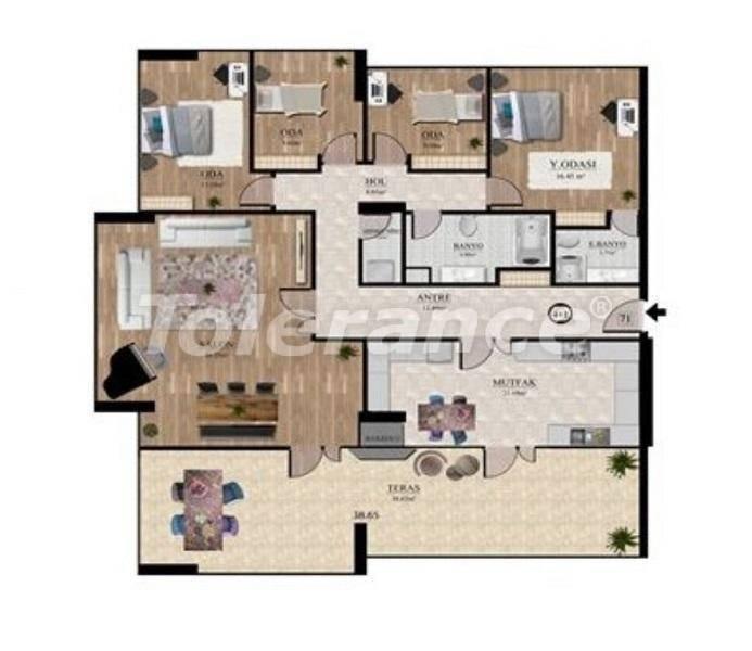 Инвестиционный проект: недорогие квартиры в Стамбуле с видом на море - 27131   Tolerance Homes